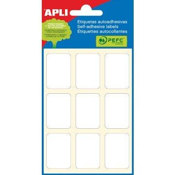 APLI Etiketten 6vel 22x32mm