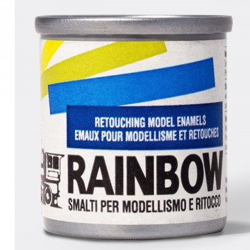 RAINBOW Modelbouwlak 17ml Zwart Metallic