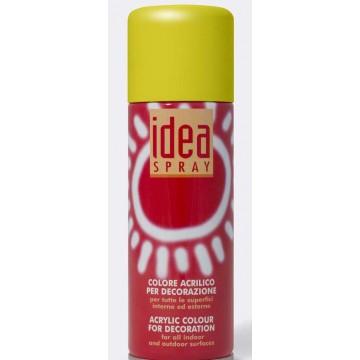 IDEA Acrylverf Spray  200ml  Citroengeel