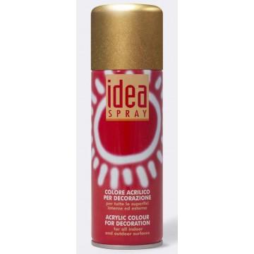 IDEA Acrylverf Spray  200ml Goud