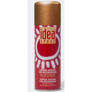IDEA Acrylverf Spray  200ml Koper