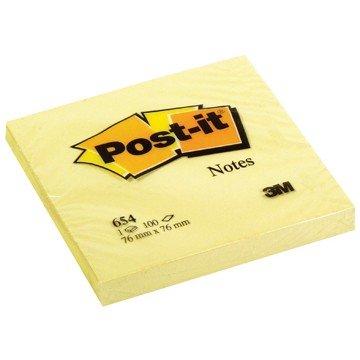 POST-IT Memo-blok  76x76mm Geel