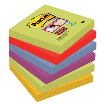POST-IT 6 Memo-blok 76x76mm Marakesh Super Sticky