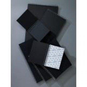 W&N Schetsboek 40 vel 180gr A4 Zwart Spiraal