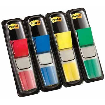POST-IT Indextabs 12x43mm 4-kleuren