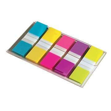 POST-IT Indextabs Smal 5 Kleuren 12x43mm