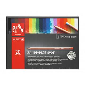 CARAN D'ACHE Luminance 20 Kleurpotloden