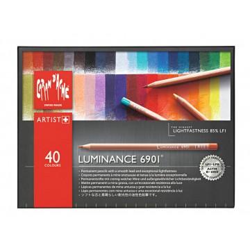 CARAN D'ACHE Luminance 40 Kleurpotloden