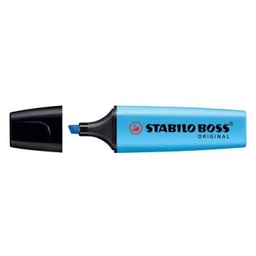 STABILO BOSS Tekstmarker Blauw