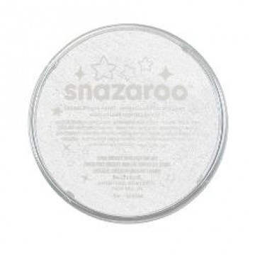 SNAZAROO 18ml Glitter Wit