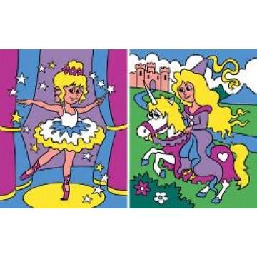 """REEVES Schilderen op nummer """"Prinses"""" 2st 20x25cm"""