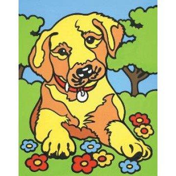 "REEVES Schilderen op nummer ""Puppy"" 11x18cm"