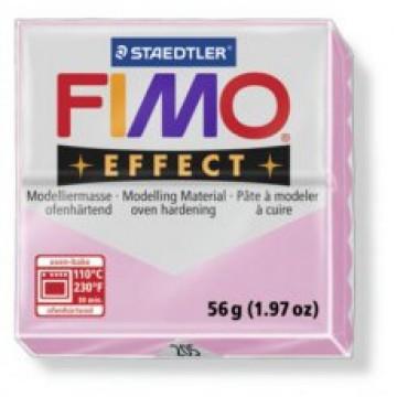 FIMO Effect Boetseerklei 57gr Roze Licht