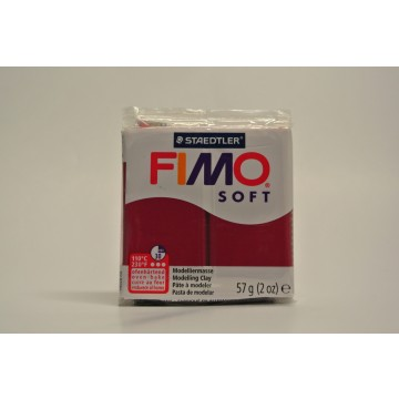 FIMO  Boetseerklei 57gr  Merlot Rood