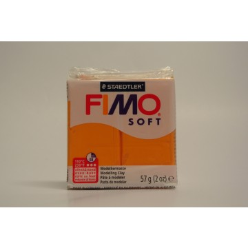 FIMO  Boetseerklei 57gr  Oranje Licht