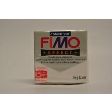 FIMO  Effect Boetseerklei 57gr  Wit Metallic