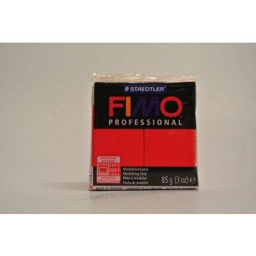 FIMO  Boetseerklei Professional 85gr Primair Rood