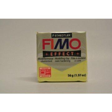 FIMO Effect Boetseerklei 57gr Citroen Geel