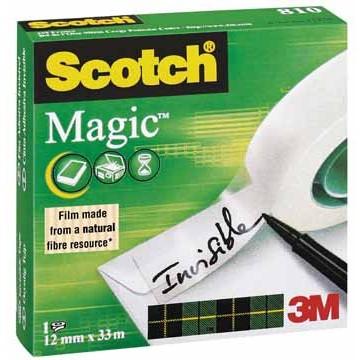 SCOTCH Magic Tape 12mmx33m
