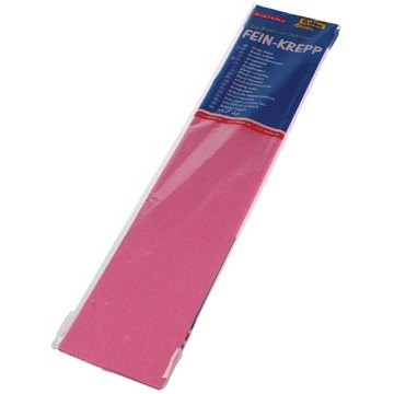 FOLIA Crêpe Papier 250x50cm Roze Licht