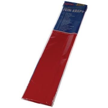 FOLIA Crêpe Papier 250x50cm Rood