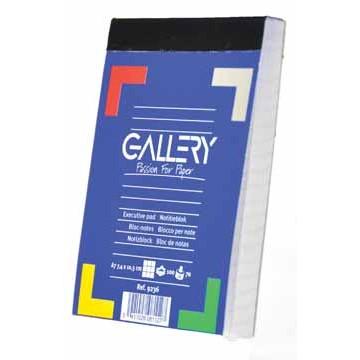 GALLERY Notablok 100vel A7 Geruit