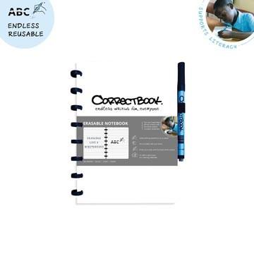 CORRECTBOOK Uitwisbaar Notablok A5