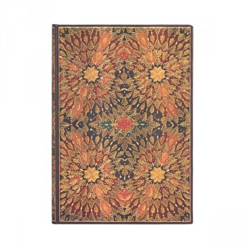 "PAPERBLANKS ""Fire Flowers"" Midi Adresboek"