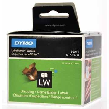 DYMO Rol Etiketten Wit 101x54 EL60