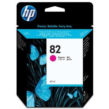 HP Inkcartidge 82  Inhoud: 69ml Magenta