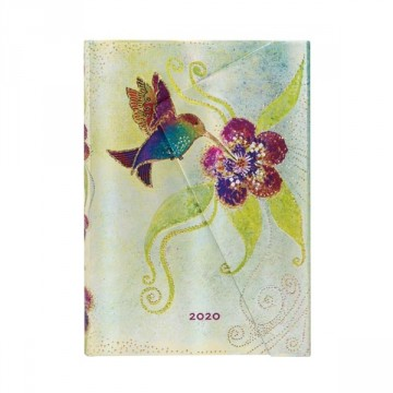 PAPERBLANKS Agenda Mini 2020 Hummingbird