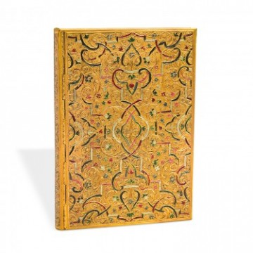 "PAPERBLANKS 18x23cm Adresboek ""Gold Inlay"""