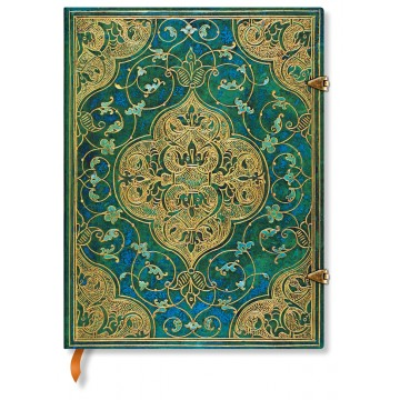 """PAPERBLANKS A4 """"Turquoise Chronicles"""" Blanco"""