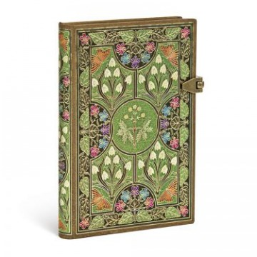 "PAPERBLANKS 9,5x14cm ""Poetry in Bloom"" Blanco"