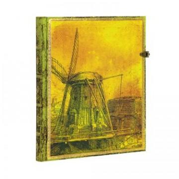 "PAPERBLANKS 18x23cm ""Rembrandt 350 Jaar"" Blanc144p"