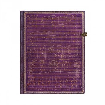 "PAPERBLANKS 18x23cm ""Beethoven"" Gelijnd"
