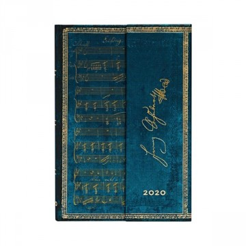PAPERBLANKS Agenda Mini 2020 Schubert